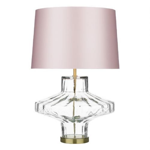 Vienna Table Lamp Clear Glass Base Only VIE4308 (7-10 day Delivery)